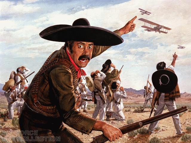 Wicks Yanqui Go  Home Pancho Villa AFAP 1983